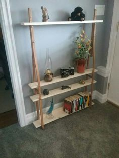 Reclaimed crutch shelving.. sold.  Thank you very much I will make more.