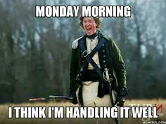 Good old Capt Simcoe. Thank you Samuel Roukin for such a great character!