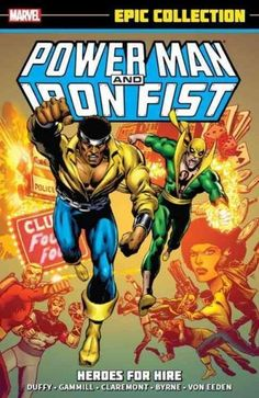 Marvel's stronger-than-steel man of the streets, Luke Cage, partners with the mystic kung fu master Iron Fist in the beginning of one of the greatest teams in comic-book history! Together Power Man an