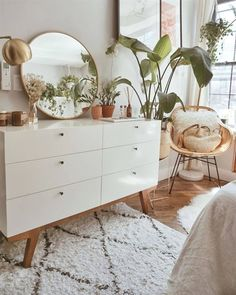 🥰 – room inspo – – Home Decor Apartment Bedroom Plants Decor, Plant Decor, Living Room Decor Kmart, Aesthetic Room Decor, Home Bedroom, Bedroom Ideas, Modern Bedroom, Contemporary Bedroom, Master Bedroom