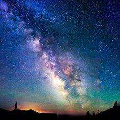 Milky Way by Alexis Coram - a chilly night at Crater Lake in Oregon Crater Lake National Park, National Parks, Kind Of Blue, Heaven On Earth, Milky Way, Night Skies, Natural Beauty, Northern Lights, Beautiful Places