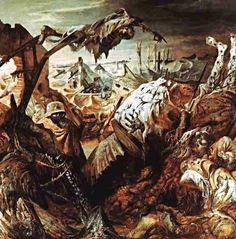 'The Trench', 1923, Otto Dix