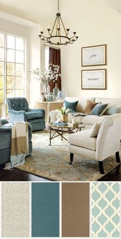 Please Visit 37 Inspiring Living Room Color Schemes Tan Couch Post to Read Full Article. Living Room Colour Design, Living Room Decor Colors, Living Room Color Schemes, Living Room Designs, Family Room Colors, Beige Living Rooms, Living Room Paint, New Living Room, Brown And Cream Living Room