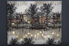 kuva Holidays And Events, Home And Garden, Christmas Tree, Snow, Canvas, Holiday Decor, Crafts, Outdoor, Inspiration