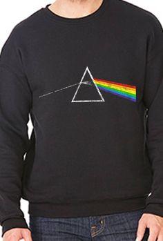 Prism Inspired Heavy Blend™ Crewneck Sweatshirt 18000 by SamSamDesigns on Etsy https://www.etsy.com/listing/558132795/prism-inspired-heavy-blend-crewneck