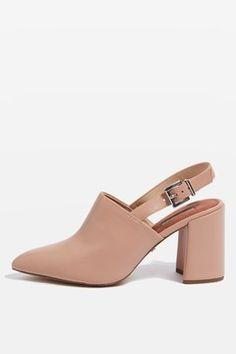 4782452c1 GROOVE Slingback Block Heels Topshop Shoes