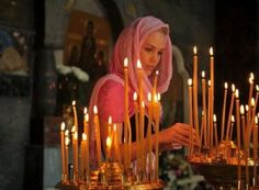 Question: Why do we light candles in the Orthodox Church? Answer: There are typically two types of candles that Orthodox are fa.