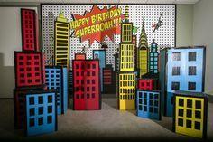 free superhero background - Google