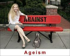 """""""Against Ageism""""    [click on this image to find a series of clips that can be used as a platform for opening a discussion about ageism and stereotypes about the elderly]"""
