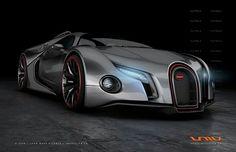 2012 Bugatti Veyron Super Sports Car
