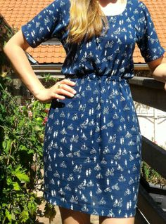 @o0aly0o's Bettine dress - sewing pattern by Tilly and the Buttons
