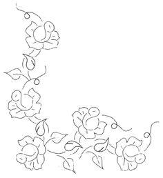 Simple Rose Embroidery Design – Needle'nThread.com