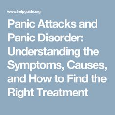 Have you had a panic attack? Recognize panic attack symptoms and how you can help yourself overcome panic disorder. Depression Recovery, Physical Symptoms Of Anxiety, Anxiety Attacks Symptoms, What Causes Panic Attacks, Anxiety Disorder Treatment, Test Anxiety, Emotionally Unavailable, Nervous Breakdown
