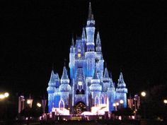 Ice Castle -Cinderella Castle is a Wintry Spectacle Crowning Walt Disney World Resort for the Holidays