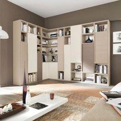 salones y comedor muebles de salón L32 Tórtola Lineal