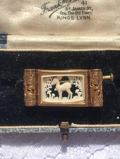 Edwardian Ring, Dog Bag, Scottie Dog, Parisian Style, Square Watch, Floral Motif, 1940s, Vintage Antiques, Balenciaga
