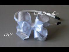 Laço para varias ocasiões -D.I.Y ,PAP, TUTORIAL -Satin ribbon bow - YouTube