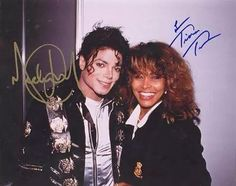 Michael Jackson and Tina Turner