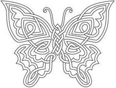 "iColor ""Butterflies"" Celtic Butterfly"