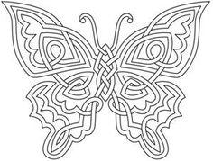 "iColor ""Butterflies"" Celtic Butterfly"