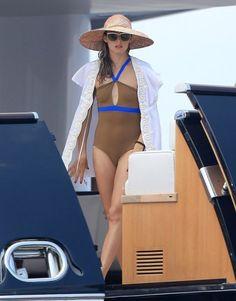 Olivia Palermo in Ibiza