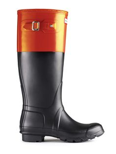 Hunter Boots must have. It's the orange, of course.