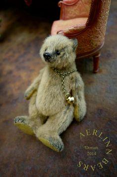 Dorian, Miniature Mini 8.2 cm Artist Teddy Bear from Aerlinn Bears