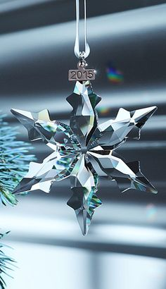 Cant wait for this one for my collection Swarovski 2015 Annual Edition Christmas Star Ornament Swarovski Christmas Ornaments, Swarovski Snowflake, Crystal Snowflakes, Christmas Tree Ornaments, Christmas Decorations, Christmas Mantles, Christmas Villages, Swarovski Crystal Figurines, Swarovski Crystals