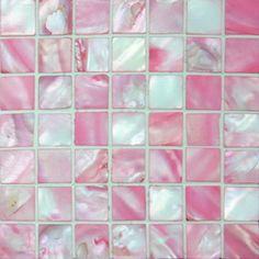 Pink Mosaic Tiles. Backsplash for my kitchen