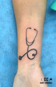 Stethoscope tattoo