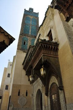 "roxygen: "" Mosque and Mausoleum of Sidi Ahmad al-Tijani, Fes, Morocco © Prof. Mortel """