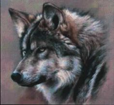 cross stitch wolves patterns | Wolf+cross+stitch+patterns+free
