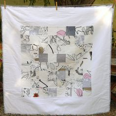 Quilt inspired by Yoshiko Jinzenji - from Flickr, chabronico  Fabienne Chabrolin