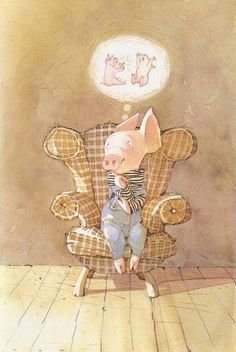 Toot's birthday was on Friday October 5 - Toot & Puddle: A Present for Toot, 1988 - illustrator: Holly Hobbie