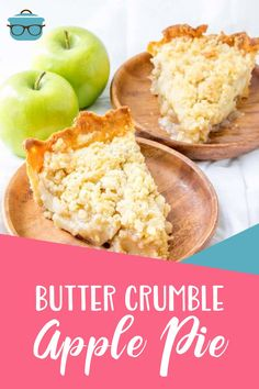 Butter Crumble Apple Pie is hands-down the best apple pie recipe. An easy, flaky crust, amazing filling and butter crumble topping!