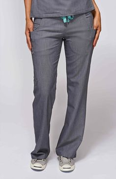 women's livingston basic scrub pants - graphite – FIGS