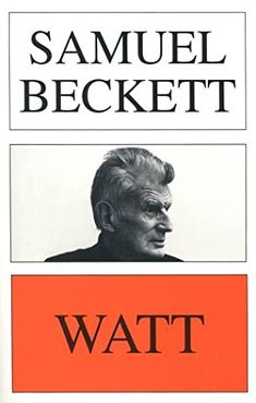 Watt by Samuel Beckett - WATT was the beginning of Samuel Becket's post-war literary career, the fruition of the years in hiding in the Vaucluse mountains from the Gestapo, which also largely inspired WAITING FOR GODOT. But it remains, unlike the work that followed it, extremely Irish, a philosophical novel full of the grim humour that was already his trade-mark in such earlier fictions as MORE PRICKS THAN KICKS and MURPHY Got Books, Book Club Books, Free Textbooks, Graphic Design Books, Samuel Beckett, Literature Books, Book Writer, Happy Reading, Film Music Books