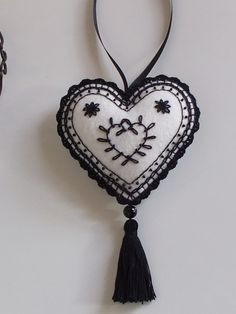 felt hearts, think I would prefer it in red & white