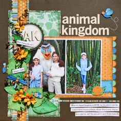 ---> Animal Kindgom! Our 2nd most favorite Disney World park!!  :)