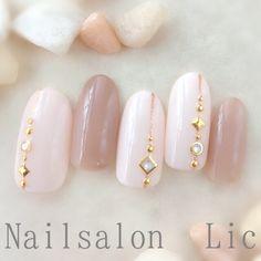 Modern Nail Art Designs that Are Too Cute to Resist Love Nails, Pretty Nails, My Nails, Asian Nails, Elegant Nail Art, Luxury Nails, Japanese Nails, Bridal Nails, Gel Nail Designs