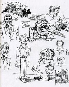 R.Crumb SKETCHBOOK volume 7