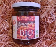 Confiture pomme argousier bio 300g