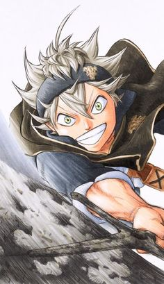 Marvelous Learn To Draw Manga Ideas. Exquisite Learn To Draw Manga Ideas. Black Clover Asta, Black Clover Anime, 5 Anime, Anime Art, Manga Drawing, Manga Art, Lily Images, Black Cover, Black Butler