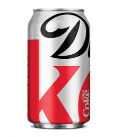 Limited Edition Diet Coke can design