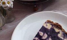 Fitness tvarohovo-borůvkový koláč bez mouky a cukru