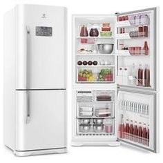 Geladeira / Refrigerador Electrolux DB53 Frost Free Bottom Freezer 454 Litros - Branco