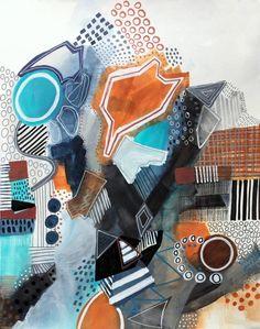 """Saatchi Art Artist Melanie Biehle; Painting, """"Architectural"""" #art"""