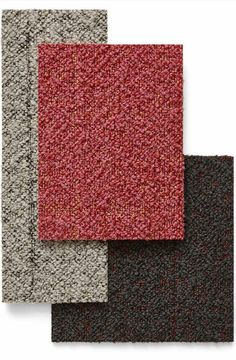 Create playful flooring with Desso Iconic carpet. A unique tufting technique gives this tactile carpet tile hidden depths. The collection offers a kaleidoscope of 24 colours – with vibrant tones sitting alongside neutral shades, allowing designers to set the tone for energetic open spaces, meeting rooms or zoning in the workplace. #officedesign