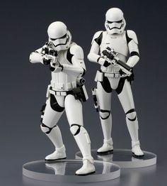 Star Wars VII First Order Snowtrooper ARTFX+ Statuen Doppelpack 18 cm