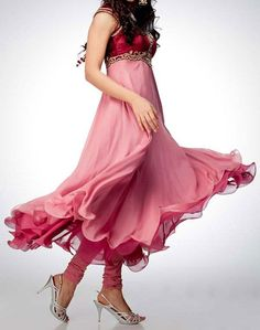New Umbrella Frocks 2013 Style Designs India Pakistan